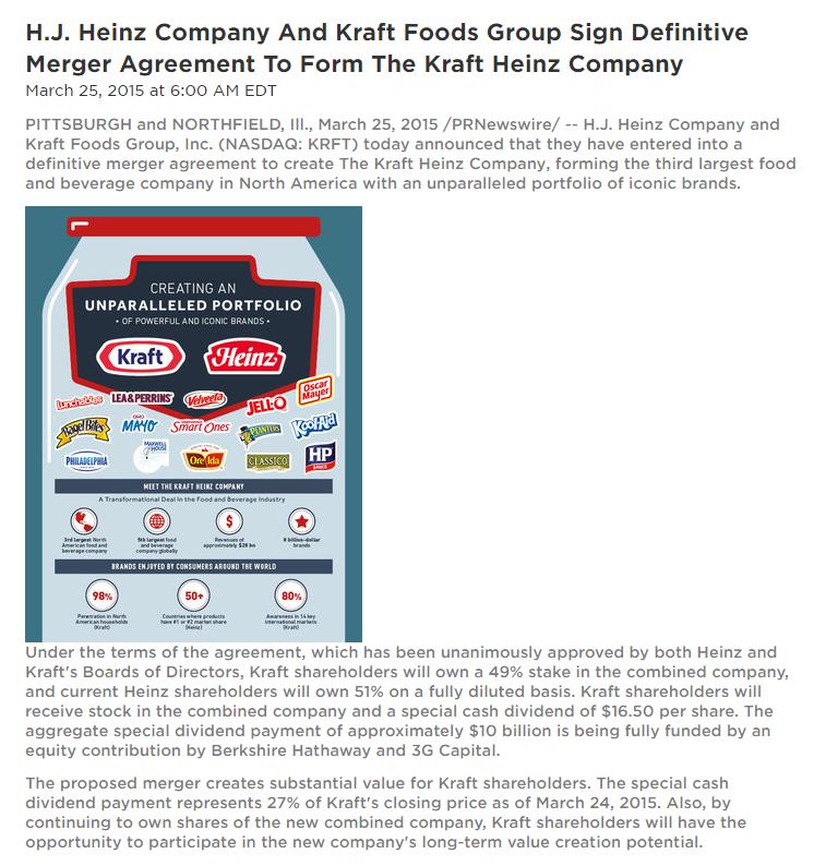 9 kraft merger