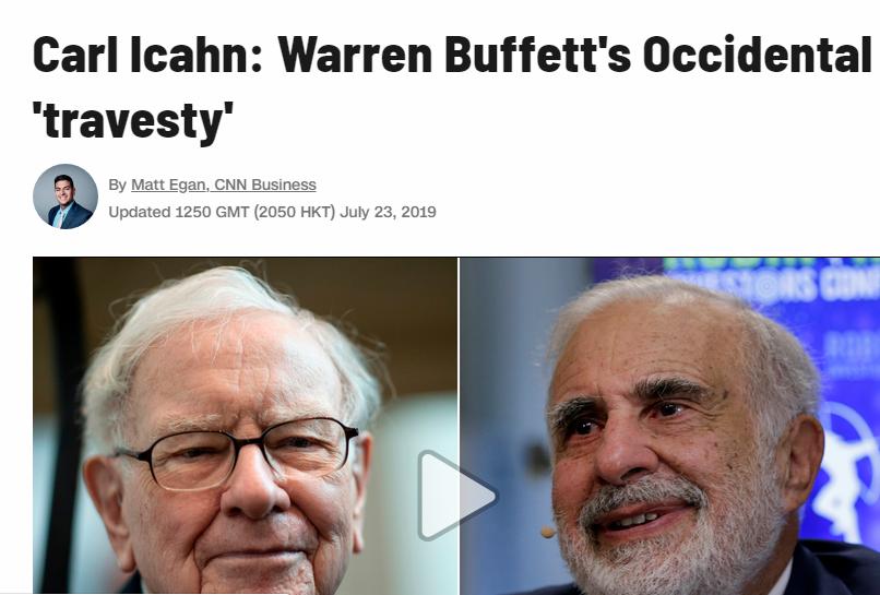 1 icahn occidental buffett