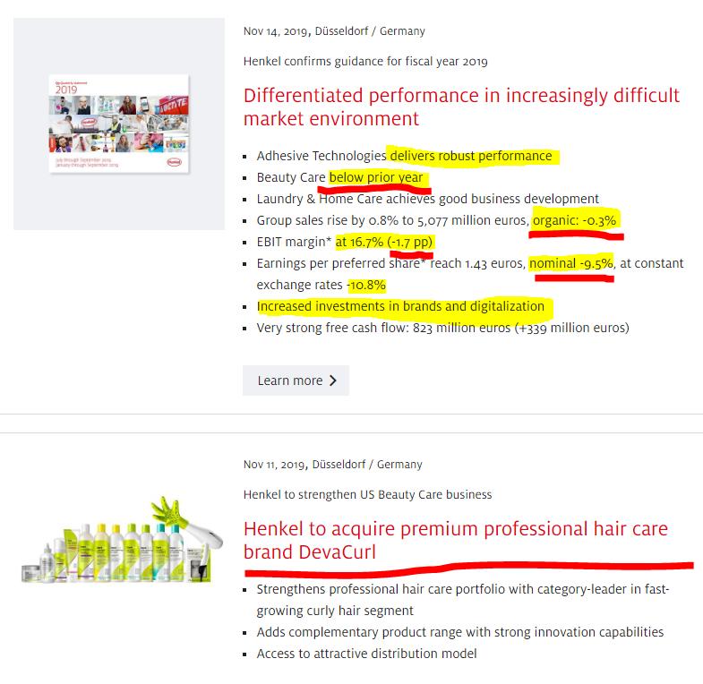 Henkel stock analysis