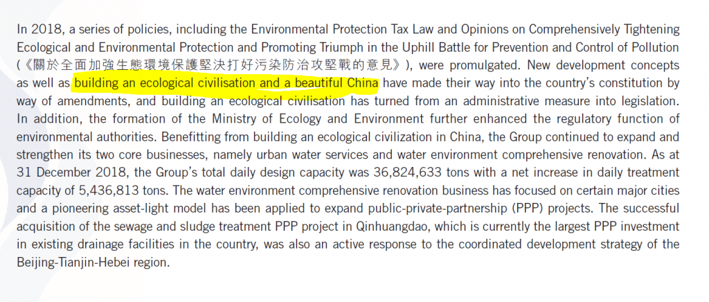China environment situation
