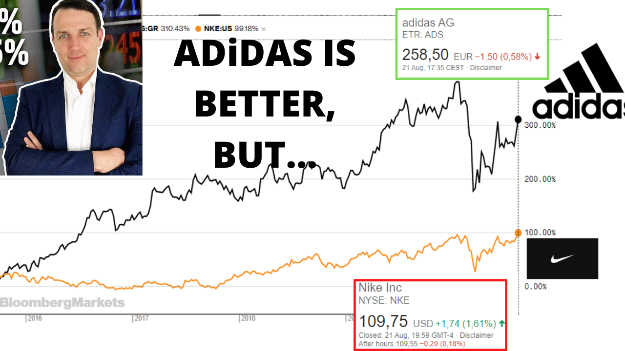 Adidas Stock Is Better Than Nike, But